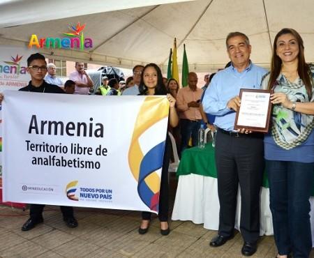 ARMENIA TERRITORIO LIBRE DE ANALFABETISMO 2